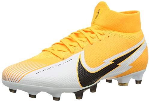 Nike Superfly 7 AG-Pro, Football Shoe Unisex Adulto, Laser Orange/Black-White-Laser Orange, 43 EU