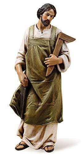 Joseph's Studio by Roman - St. Joseph The Worker Figure, Life of Christ, Renaissance Collection, 10.25
