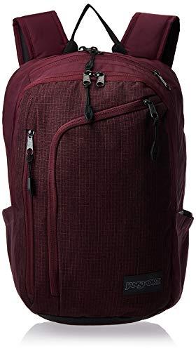 JanSport Platform Laptop Backpack (Micro Grid Red)