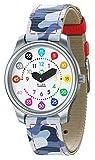 Twistiti Première Montre Pédagogique Enfant, Cadran Nombres Colorés pour Apprendre l'heure, Étanche 50M, Bracelets Interchangeables