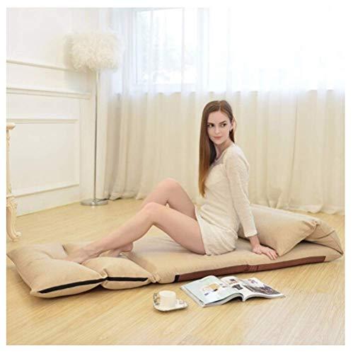 KUYH Sofá cama Lazy Tatami, plegable y lavable, silla de ventana de Tatami Bay, silla trasera, sala de estar y dormitorio balcón 68 × 226 cm