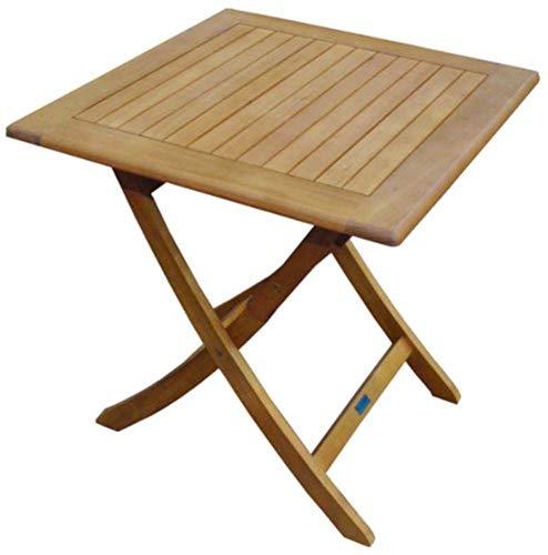 Proloisirs Table en Eucalyptus Sophie 70 cm