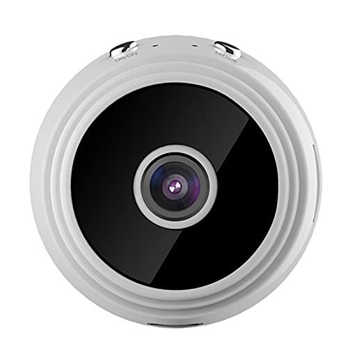 BAHER Mini cámara espía, 1080P HD WiFi cámara oculta inalámbrica, cámara portátil de seguridad para el hogar, visión nocturna, detección de movimiento, aplicación de monitoreo en tiempo real