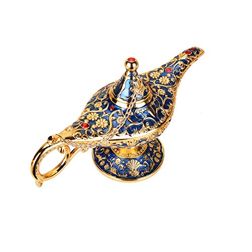 HHYZ Aladdin Lamp, Aladdin Wishing Lamp, Unique Decorative Ornaments Suitable for Family