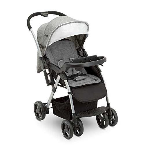 Price comparison product image Jeep Unlimited Reversible Handle Stroller,  Grey Tweed