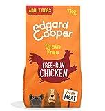 Edgard & Cooper pienso para Perros Adultos sin Cereales, Natural con Pollo Fresco de Granja, 7kg. Alimentación equilibrada sin harinas de Carne ni Carnes sobreprocesadas, cocinada a Baja Temperatura