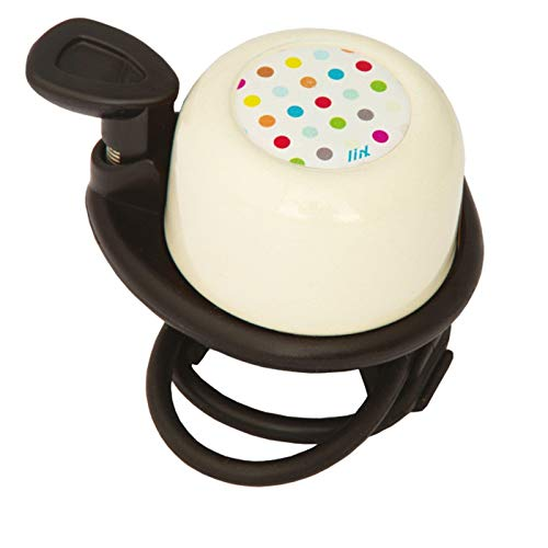 Liix Fahrradklingel Scooter Bell Polka Dots Cream