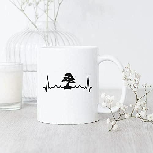 Bonsai Heartbeat Mug Funny For Lover Genuine Free Max 90% OFF Shipping Japa Gift