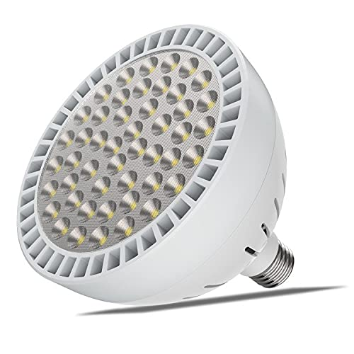TOVEENEN LED Pool Light High Brightness White - 120V - 60W - 5400lm