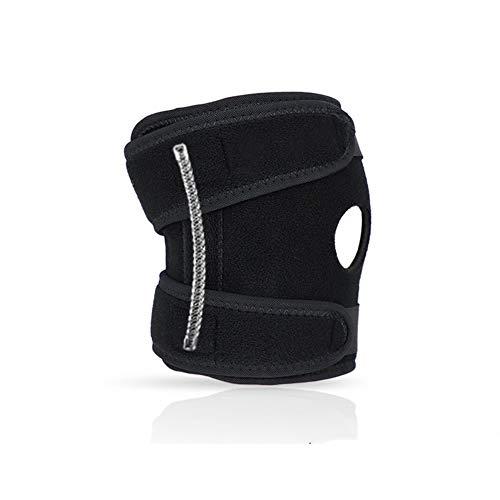 Cestbon Ellenbogenbandage, medizinische Ellenbogenschoner, Ellenbogenbandage, Fitness, Ellenbogenschoner aus Neopren mit Doppelfeder-Stabilisatoren, schwarz