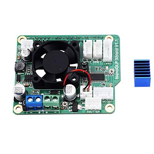 Hemobllo 9-28V NanoDLP Shield V1.1 Expansion Board for Raspberry Pi 3B Light-cured 3D Printer