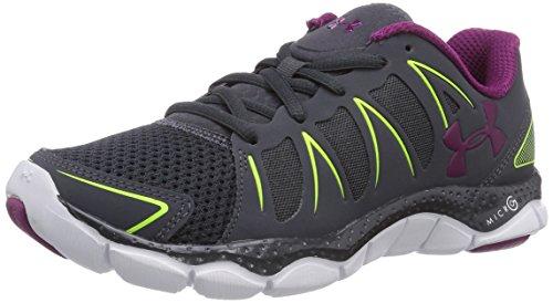 Under Armour UA W MICRO G ENGAGE II - Zapatillas de running de material sintético para mujer, color negro, talla 38