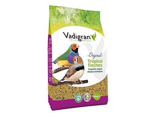 VADIGRAN Comida para pájaro exótico 4kg