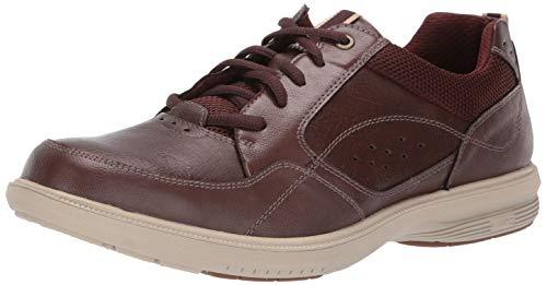 Nunn Bush Men's KORE Walk Moccasin Toe Lace Up Oxford Shoe, Brown, 13 Medium
