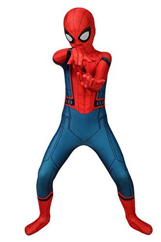 Reshiny Superhero Onesie Costumes Cosplay Full Bodysuit Kids Jumpsuit Zentai Suit,XS