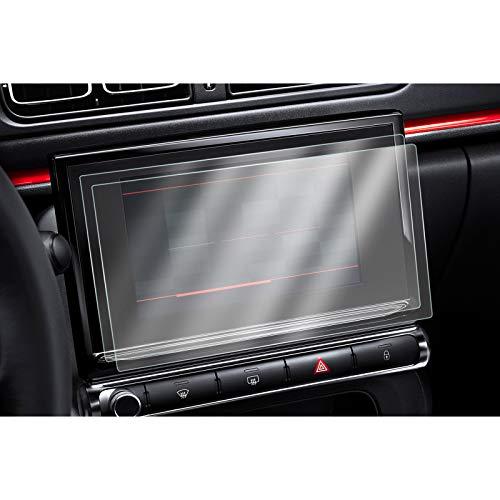 [2 unidades] CDEFG para Citroen C3 C4 Protector de Pantalla, HD Auto 9H GPS Navi película protegida PET (9.7 Inches)