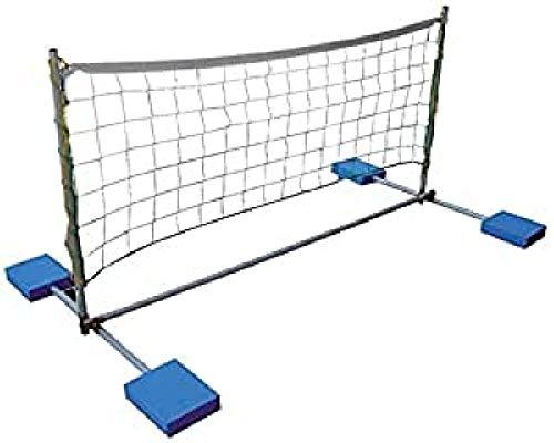 Softee Equipment 0019056 Red de Watervolley Voleibol Flotante, Blanco, S
