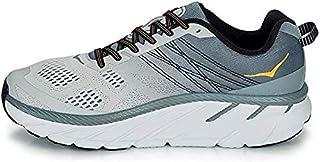 HOKA ONE ONE Men's Clifton 6 Running Shoes, Lead/Lunar Rock, 11.5 US