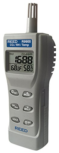 REED Instruments R9900 Indoor Air Quality CO2 Meter