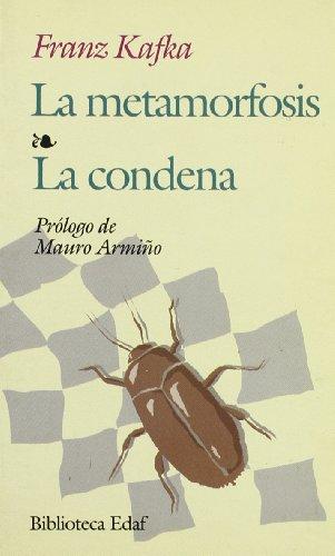La Metamorfosis / La Condena (Biblioteca Edaf De Bolsillo)
