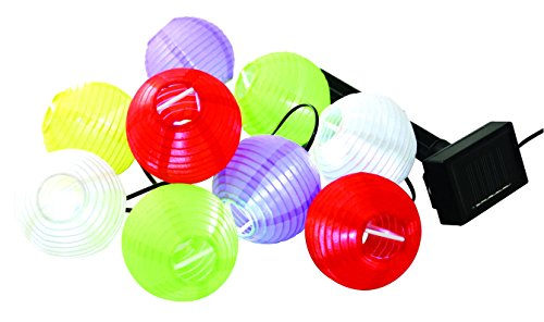 Garden Pleasure Solar-lampionketting 504383