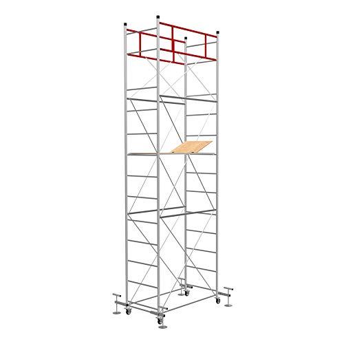 SCEDIL FAST Livellante, Trabattello in acciaio zincato - H. lavoro 6,10 m