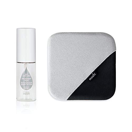 Moshi TeraGlove Screen Cleaner Kit Wipes & Spray Bottle, Microfiber Cloth, for iPad/MacBook/iMac/Kindle/Tablet/TV/Car Monitor