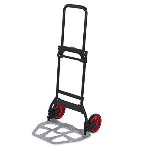 Kreator Sackkarre klappbar Transportkarre - 120 kg Traglast Stapelkarre