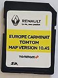 Carte SD GPS Europe 2020-10.45 - Renault Tomtom Carminat