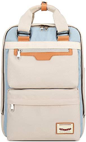 Rucksack Damen für Schule Uni Reisen Freizeit Job mit Laptopfach & Anti Diebstahl Tasche (Gray)