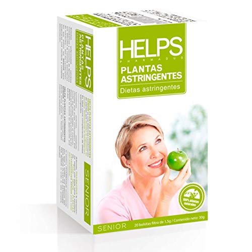 HELPS INFUSIES - Infusie van rozenbottels, groene anijs en bosbessen. Het bevordert hydratatie. Helps adstringerende planten. Doos met 20 zakjes.