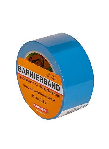 Barnier Putzerband blau 50 mm x 33 m Schutzband PVC-Schutzband Klebeband Putzerband Scapa Klebeband Barnier Putzerband blau