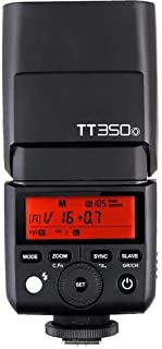 Godox TT350O Speedlight For Olympus & Panasonic TTL HSS - Black