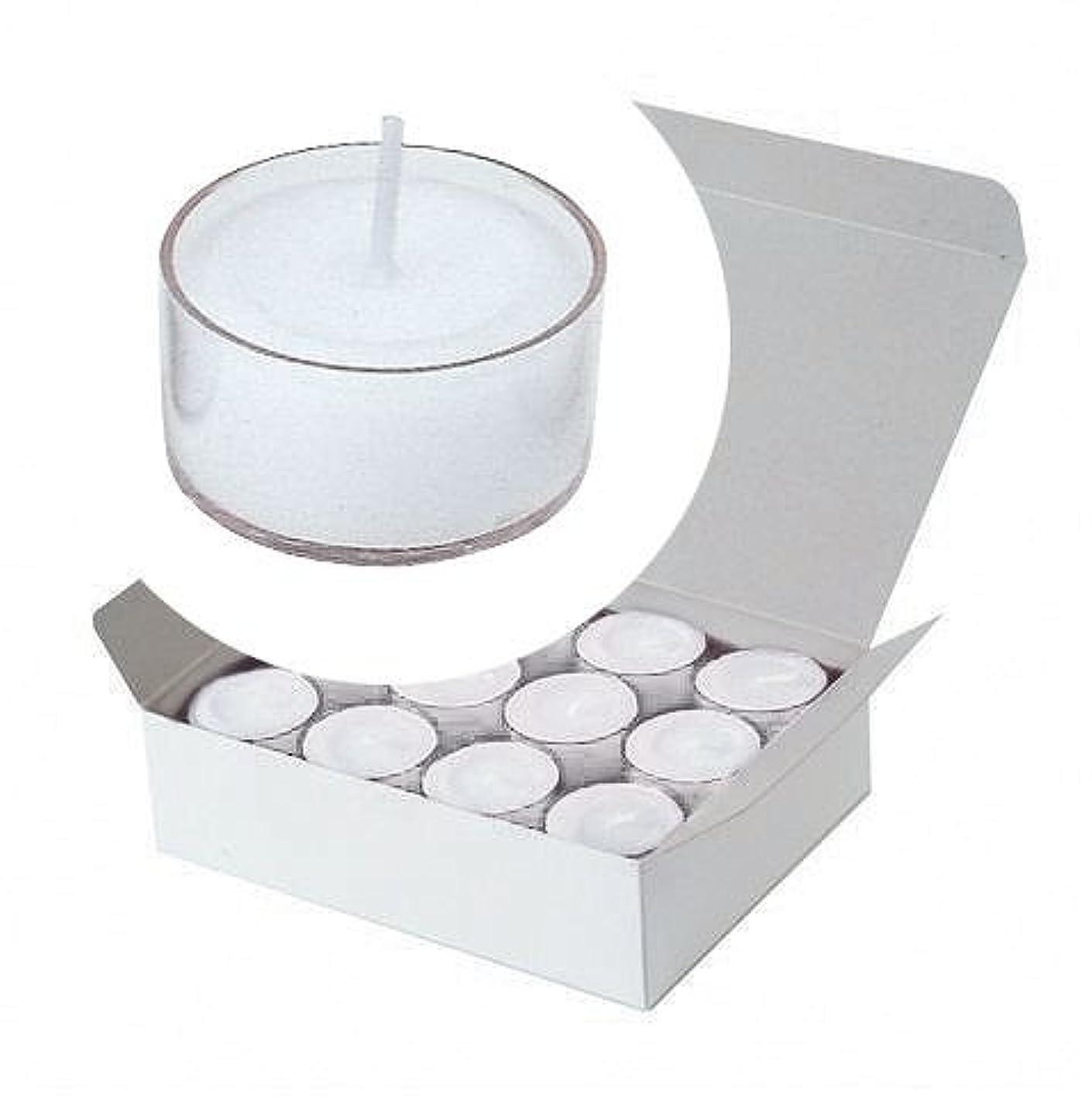 カメヤマキャンドル(kameyama candle) クリアカップティーライト24個入り 「 クリア 」