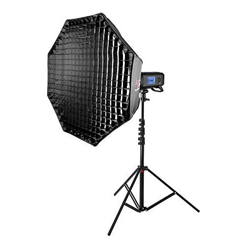 All-in-1 Citi400 pro met 90 cm scherm softbox & intrekbare standaard verlichting licht Studio fotografie 2 jaar Britse garantie Britse goederen BTW geregistreerd