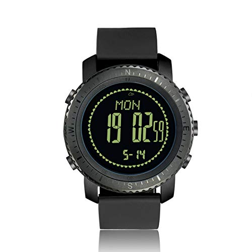 N\C Men's and Women's Smart Watches, Active Fitness Tracker, with Heart Rate and Blood Oxygen Monitoring Smart Watches For Outdoor Sports Waterproof 1.2-Inch Screen