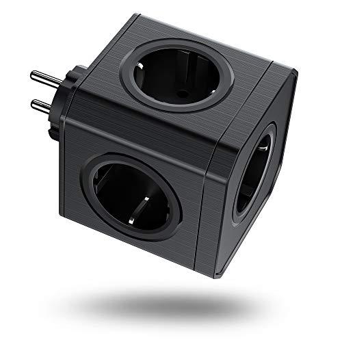 -50% Multipresa USB Cubo 5 Prese Spina multifunzione 🎁CODICE PROMO ---->
