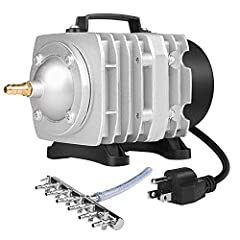 PREMIUM MATERIALS & GREAT HEAT CONTROL: This pump dissipates heat more effectively with aluminum-alloy heat-radiating plates, and delivers excellent, long-lasting performance with an high-quality aluminum manifold and 100% copper outlet nozzle Maximu...