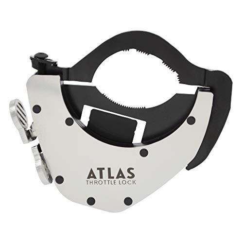 ATLAS Throttle Lock - A Motorcycle Cruise Control Throttle Assist, POLISHED (Bottom Kit)