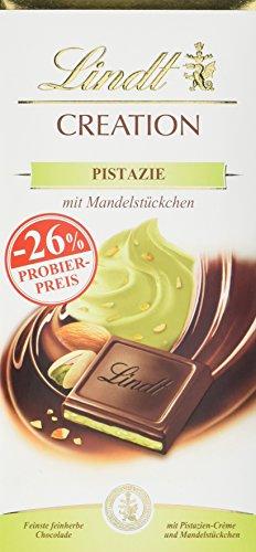 Lindt Creation Pistazie, Promotion, Feinherbe Schokolade mit Pistazien-Crème, 7er Pack (7 x 150 g)