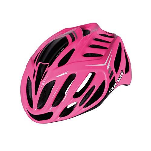 Suomy Casco Bici Timeless Fucsia / 3antracite Taglia L (Caschi MTB e Strada) / Road Helmet Timeless Fuxia / 3anthracite Size L (MTB And Road Helmet)
