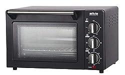 Silva Homeline MB 1400 Minibackofen, 1200 Watt, 14 l, regelbar bis zu 230 Grad, großes Sichtfenster, Ober-& Unterhitze, inkl. Backblech und Grillrost, 14 liters, schwarz