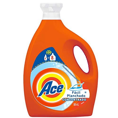 Ace Detergente Líquido Concentrado Fácil Planchado 4L