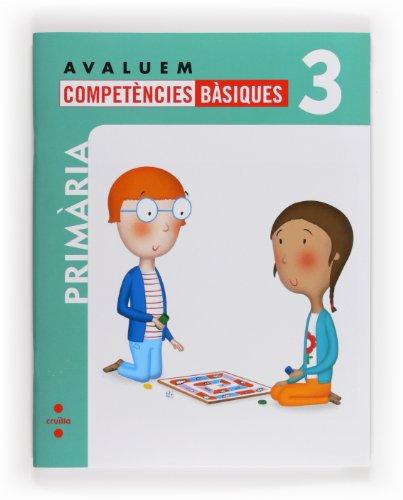 Avaluem competències bàsiques. 3 Primària - 9788466132336