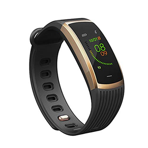 Flashing lights stijlvolle smartwatch, continue hartslagmeting bloeddruk, IP67 waterdichte Bluetooth sport-stappen-armband, lange stand-bytijd, compatibel met Android en iOS