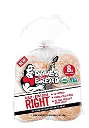 Dave's Killer Bread Burger Buns Done Right 8Count, 17.6 Oz