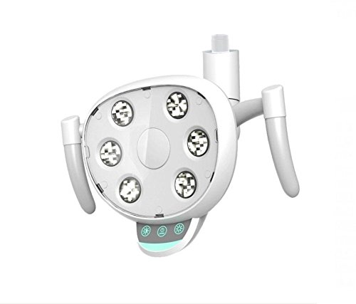Dental LED Lamp CX249-23 Oral Light with 6 High Power LEDs for Dental Chair Unit Double Control System by Purple-Violet