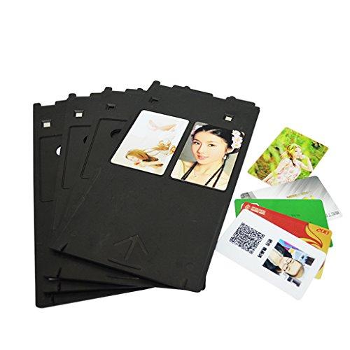 Plastica vassoi per stampante a getto d' inchiostro, per stampanti a getto d' inchiostro Canon ID card Printing Accessories