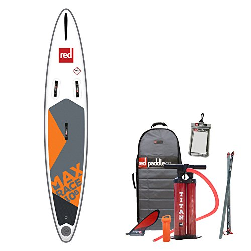 Red Paddle Co 2018 Max Race 10'6 x 26 Inflatable Stand Up...