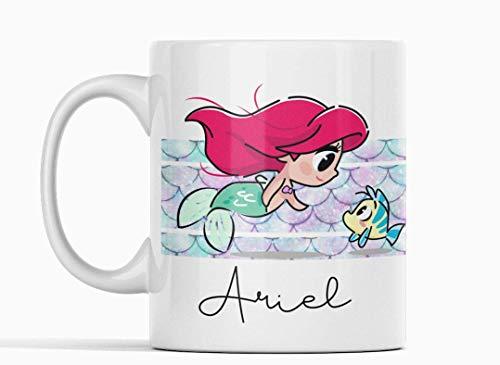 Desconocido Taza Ariel La Sirenita. Princesa Disney